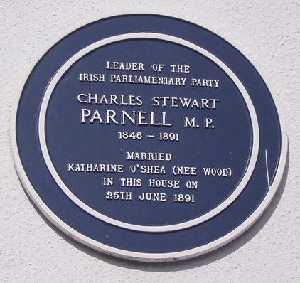Parnell's plaque